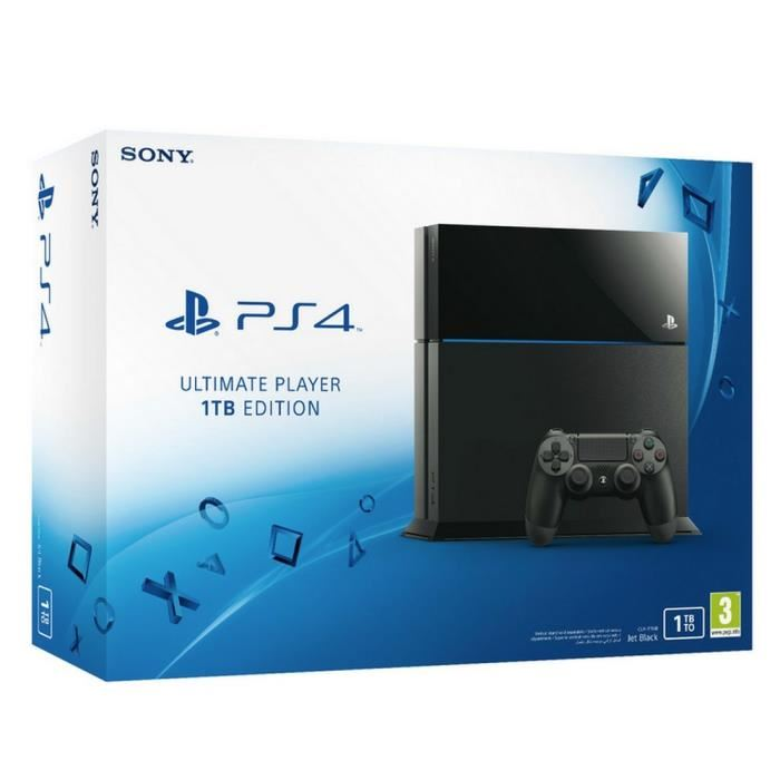 sony playstation 4 1to ultimate player edition comparer avec. Black Bedroom Furniture Sets. Home Design Ideas