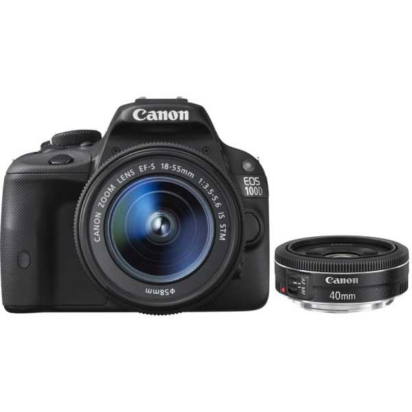canon eos 100d avec objectif 18 55mm comparer avec. Black Bedroom Furniture Sets. Home Design Ideas