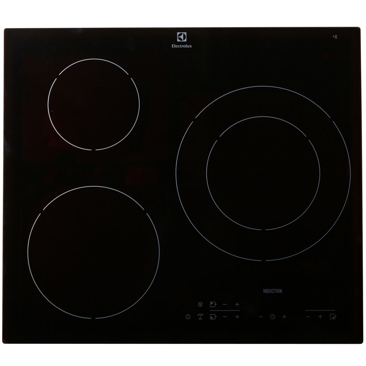 electrolux e6113hik table de cuisson induction 3 foyers comparer avec. Black Bedroom Furniture Sets. Home Design Ideas