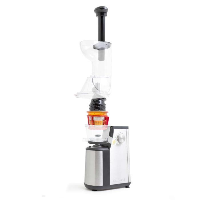 Qilive Slow Juicer Avis : Kitchencook Slow Juicer - Extracteur de jus - Comparer avec Touslesprix.com