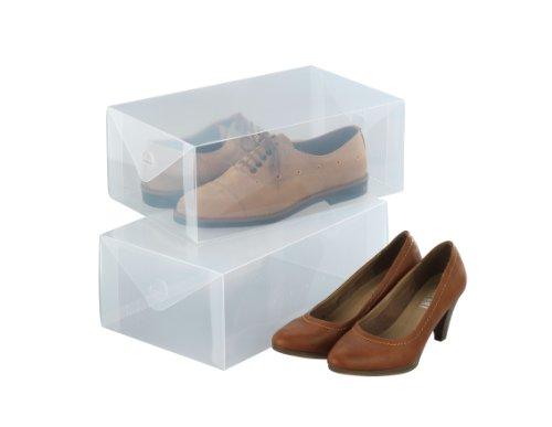 Wenko 6020100 2 bo tes de rangement pour chaussures - Boite de rangement pour chaussures ...