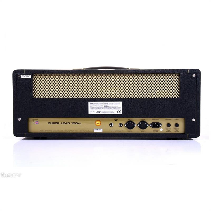 marshall 1959hw t te d 39 ampli guitare handwired 100w comparer avec. Black Bedroom Furniture Sets. Home Design Ideas