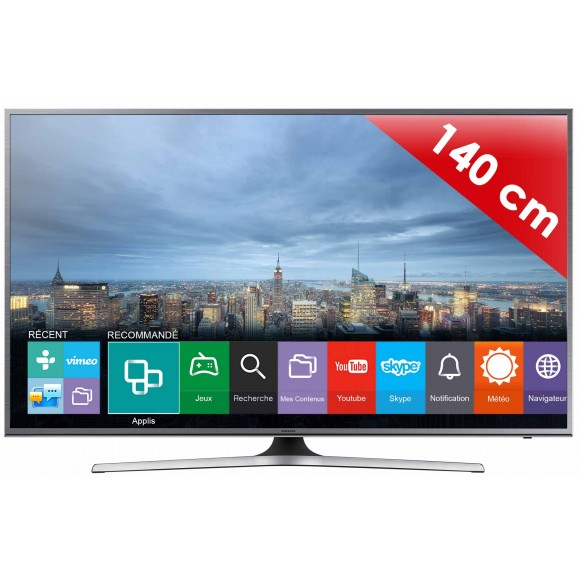 samsung ue55ju6800 t l viseur led 138 cm smart tv 4k. Black Bedroom Furniture Sets. Home Design Ideas