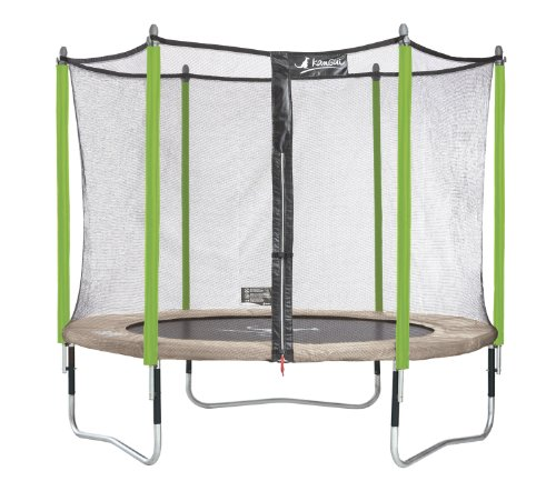 kangui trampoline jumpi zen 300 avec filet de protection. Black Bedroom Furniture Sets. Home Design Ideas