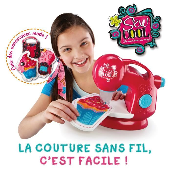 Spin master machine coudre sew cool comparer avec for Machine a coudre 6 ans