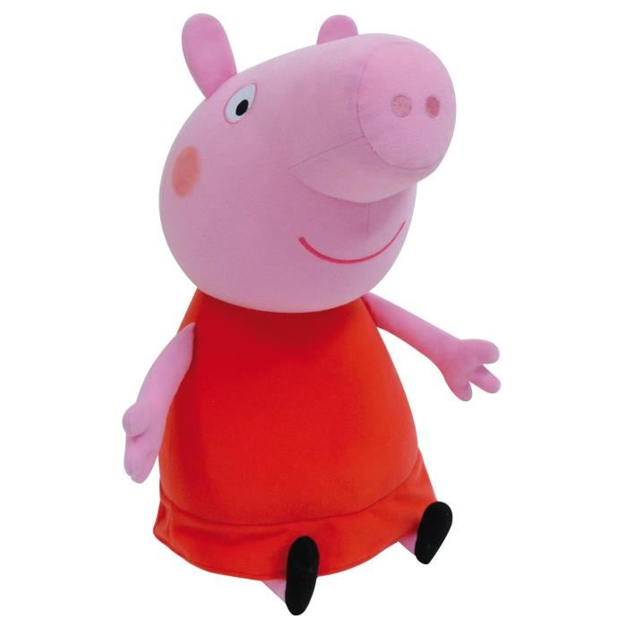 jemini peluche peppa pig 70 cm comparer avec. Black Bedroom Furniture Sets. Home Design Ideas