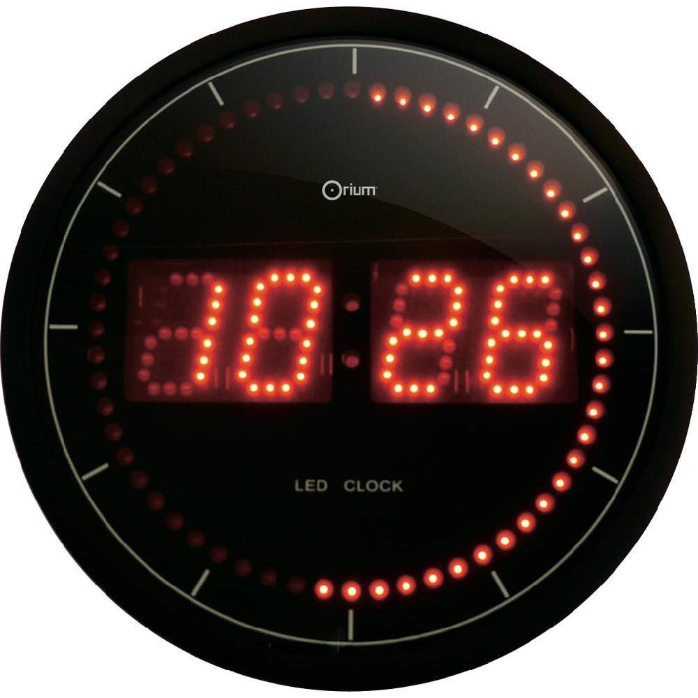 Orium horloge led 30 cm comparer avec for Pendule digitale led