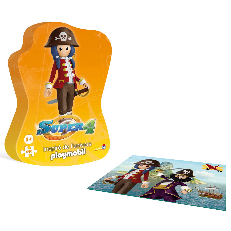 Dujardin ruby la pirate puzzle 48 pi ces comparer avec for Dujardin jouet