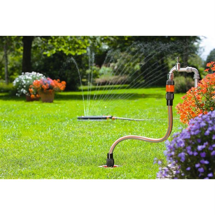 Gardena 8255 20 start set arrosage de jardin 2 robinets for Arrosage jardin gardena