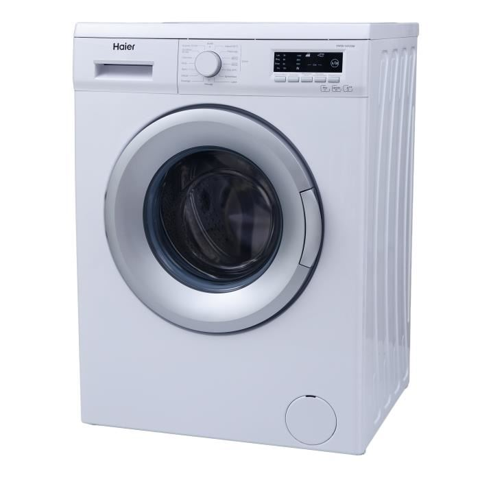haier hw80 14f2sm lave linge frontal 8 kg comparer avec. Black Bedroom Furniture Sets. Home Design Ideas