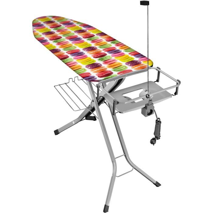 Eurogold table a repasser 130 x 38 cm comparer avec - Table a repasser prix ...