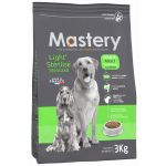 Mastery Adult Light Sterilised Croquettes chien 12 kg