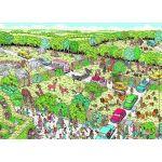Nathan Puzzle Où est Charlie : Parc Safari 100 pièces