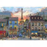Perre / Anatolian Rues de Paris - Puzzle 3000 pièces
