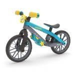 Chillafish Draisienne BMXie MOTO, avec un vrai son de moto et un moteur de jeu amovible aux nombreuses fonctionnalités, Bleu