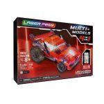 Laser pegs Multimodel Lp - Multimodel - Véhicule Rouge - 4 En 1 - 185 Pcs