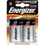 Energizer Max e300129200 - Blister de 2 Pile d LR20