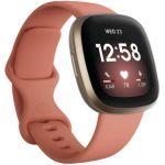 Fitbit Versa 3 Or et Argile - Montres multisport