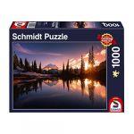 Schmidt Puzzle 1000 pièces : Paysage de montagne