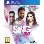 Let's Sing 2018 Hits Français Et Internationaux sur PS4