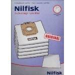 Nilfisk 78602600 - 5 sacs + 1 pré filtre d'origine pour aspirateurs séries Coupé et GO