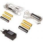 Adaptateur pour piles LR03 AAA et LR06 AA