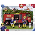 Ravensburger Puzzle Cadre - Sam le Pompier