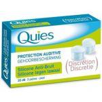 Quies Protection auditive silicone anti-bruit, 3 paires