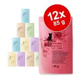 Catz Finefood Nourriture pour chat Multi Pack pouches 2 (N ° 15-N ° 25) 12 x 85 g, 1er Pack (1 x 1,02 kg)