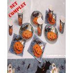 Kit table citrouille Halloween