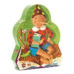 Djeco Puzzle silhouette Pinocchio 54 pièces