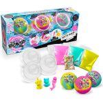 Canal Toys Bath Bomb - 3 Packs Cosmic - Rose, violet et bleu