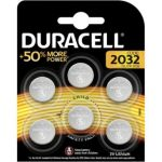 Duracell Pile SPE 2032 X6