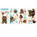 Room Studio Stickers repositionnables Vaiana (30 x 35 x 0,3 cm)