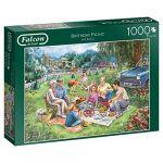 Diset Puzzle 1000 pièces : Pique-nique d'anniversaire