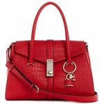 Guess Sac à main ASHER FLAP SATCHEL rouge - Taille Unique