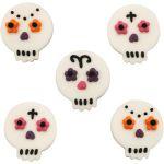 5 décorations en sucre dia de los muertos