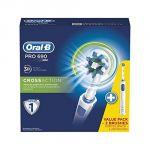 Oral-B PRO690 DUO - Lot 2 brosses à dents électrique