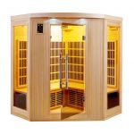 France Sauna Sauna infrarouge cabine 3-4 places APOLLON 2280W