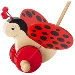 Goki Ladybird à pousser Florah 18 cm