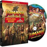 Jumanji : Bienvenue dans la jungle  + Jumanji (1995)