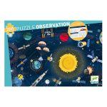 Djeco Puzzle observation L'espace 200 pcs