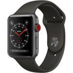 Apple Watch 42mm Series 3 (GPS + Cellulaire) - Boîtier Alu avec bracelet ou boucle Sport