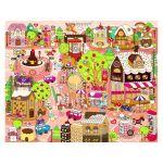 Pintoo Puzzle en Plastique - Candy Village