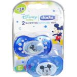 Dodie Sucette Duo Nuit Disney silicone 18 mois +
