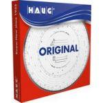 Rnk verlag 125 100 - Boîte de 100 disques à diagramme HAUG, 125 km/h, combi