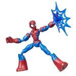 Hasbro Marvel Spiderman - Figurine Bend and Flex 15 cm avec accessoires