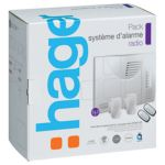 Hager SK304-22F - Pack Alarme LS radio 4 groupes