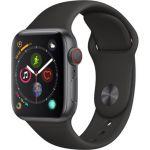 Apple Watch Series 4 + Cellular - 40mm - Alu Gris Sidéral / Bracelet Sport Noir