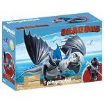 Playmobil 9248 - Dragons : Dragon avec Dragon de combat
